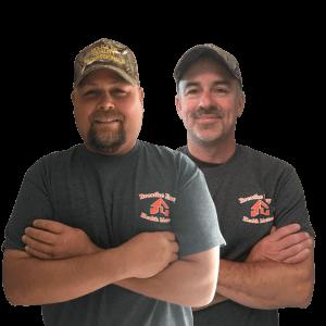 Mold Remediation Pros Greg Lambert and Scott Dettloff